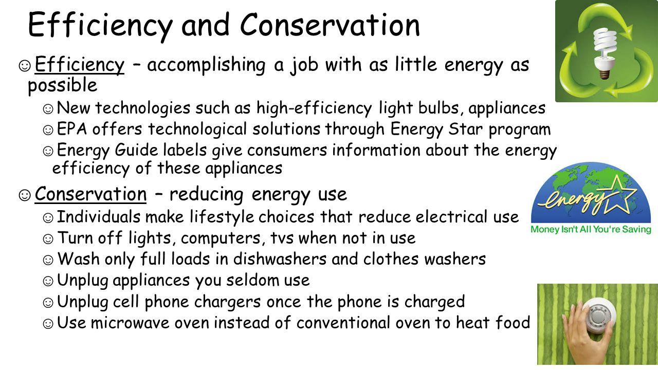 Unit 10 our future planet 10a climate change chp ppt for Energy conservation facts