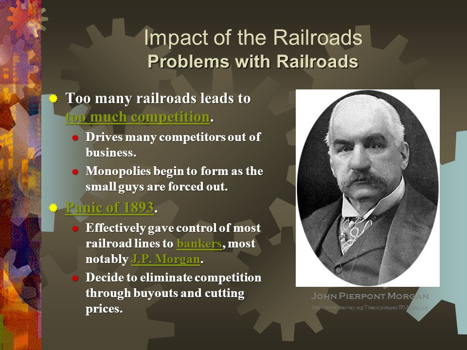 impact of railroads on united states The role of underground railroad in the history of the united states of america.