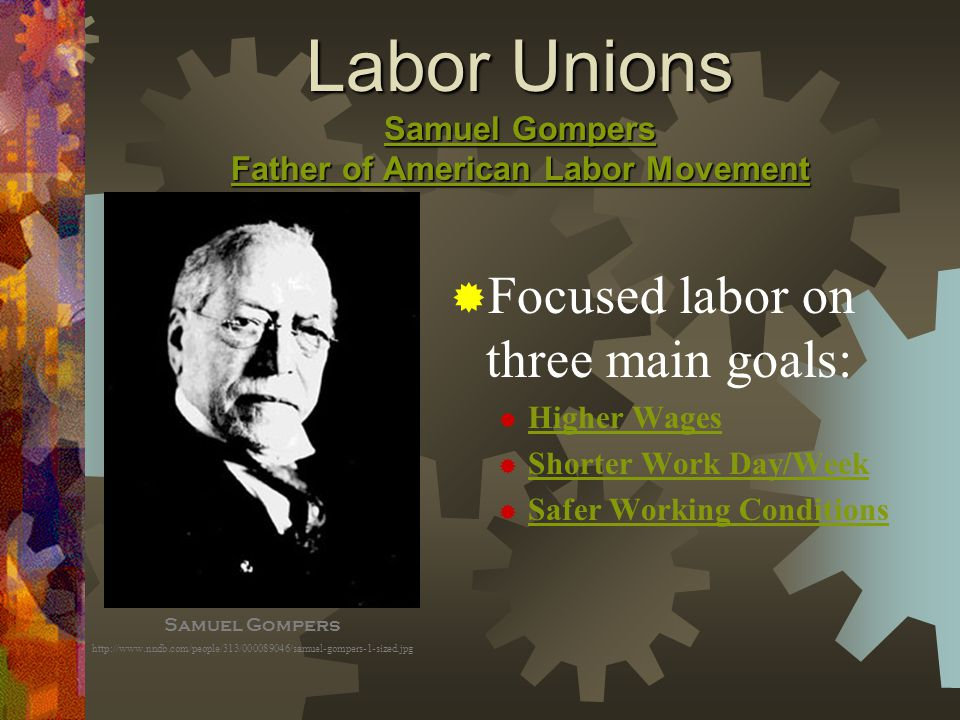 "my relationship with my union and labor movement The relationship between labor unions and political parties, how ordinary  from  being an official until my replacement is decided"" in the case of heads of."