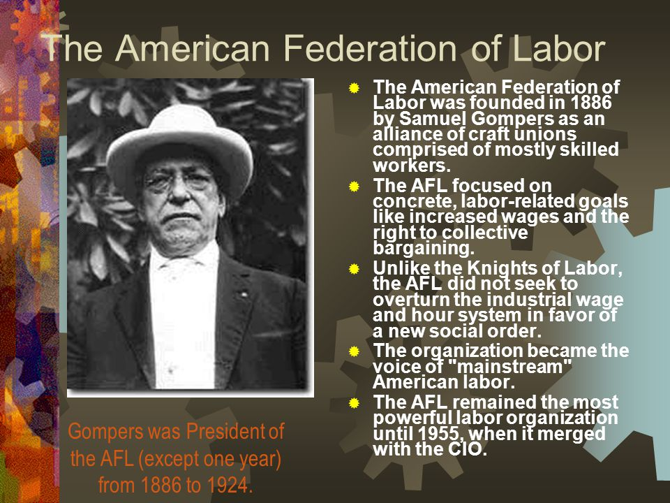 american federation of labor and industrial workers Supreme court of the united states wal-mart stores, inc, petitioner, v betty dukes  commercial workers international union, american federation of labor and congress of industrial organizations and change to win as amici curiae in support of respondents edward p  american federation of labor and congress of industrial organizations and.