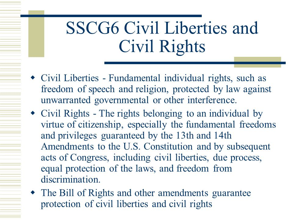 civil right and civil liberties Promoting people's rights and civil liberties it is non-party political and independent of other organisations.