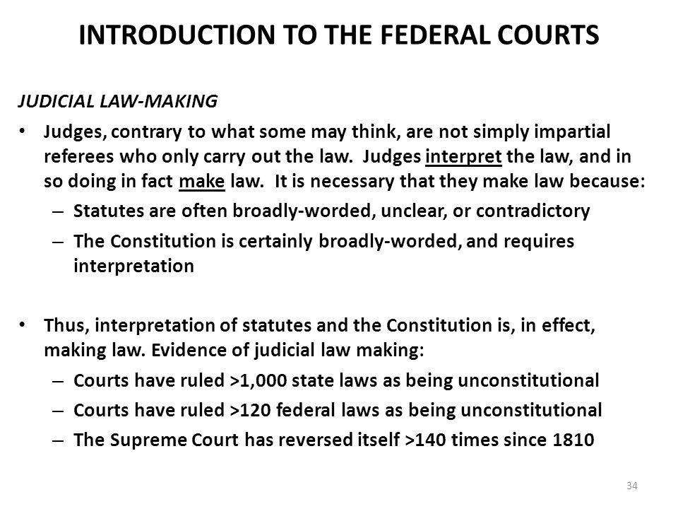 """do judges make law essay As lord reid states in his article the judge as law-maker, """"there was a time when it was thought almost indecent to suggest that judges do make law."""
