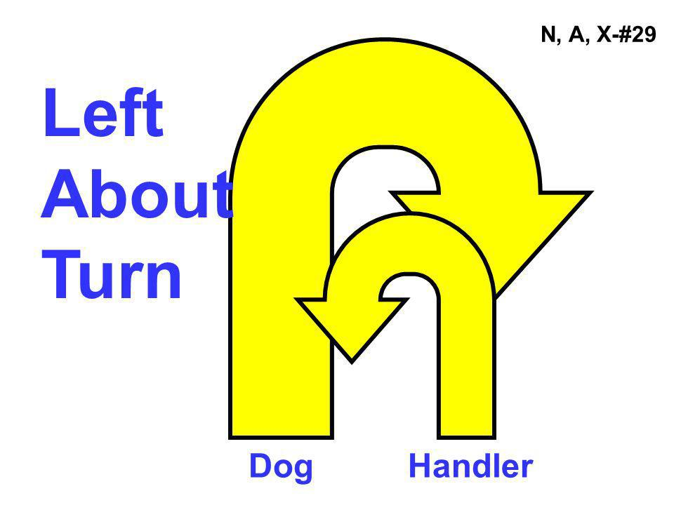 N, A, X-#29 Left About Turn Dog Handler