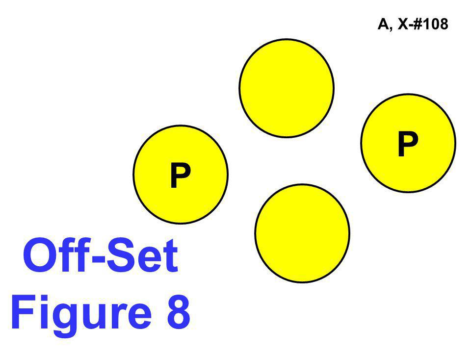 A, X-#108 P P Off-Set Figure 8