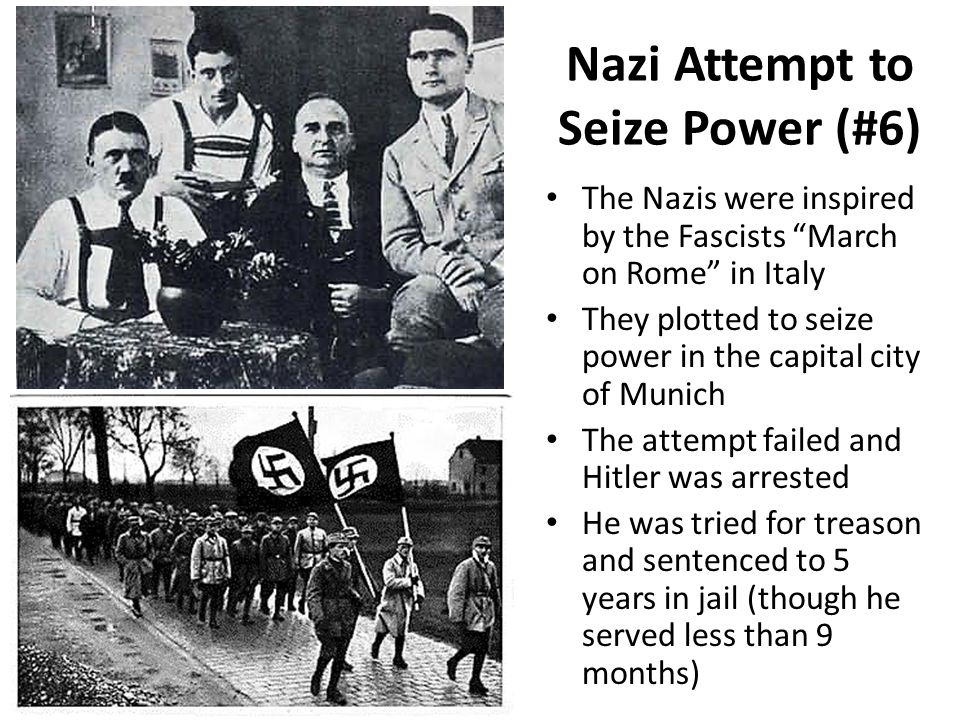 Nazi Attempt to Seize Power (#6)