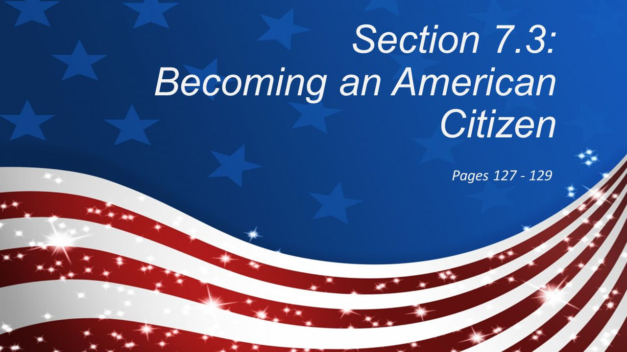 how to become an american citien