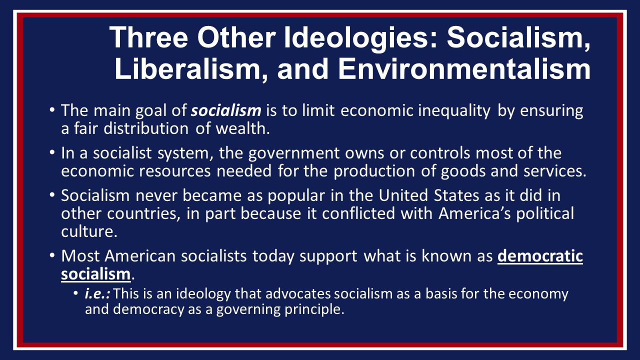 the difference in ideologies of socialism and liberalism The terms 'socialism' and liberalism' are used a lot nowadays, and many people often mistake one for the other in order to differentiate between these two terms, one must keep in mind the.