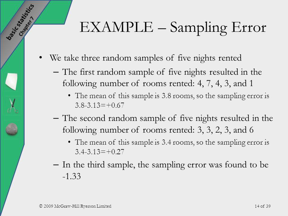 Sampling Methods and the Central Limit Theorem - ppt download