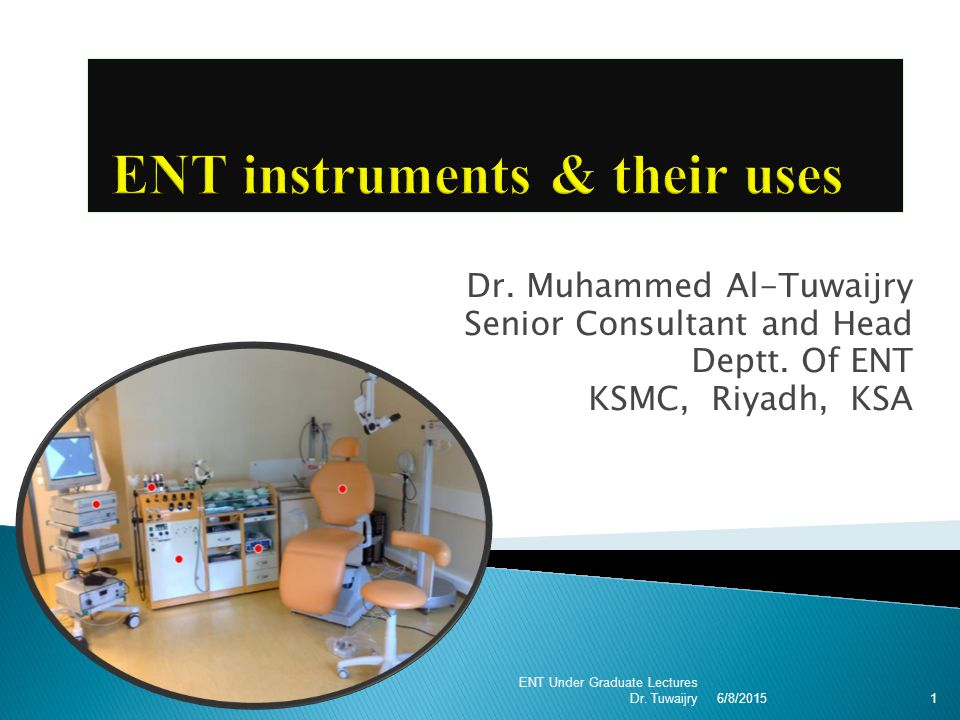 ENT instruments & their uses - ppt video online download