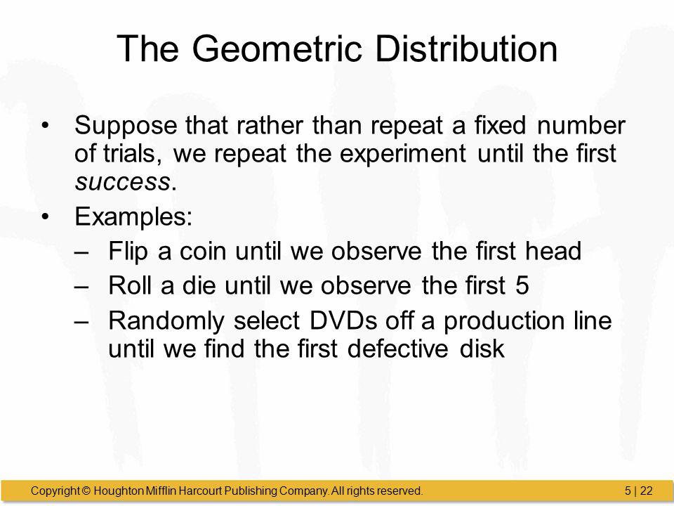 how to find number of trials geometric