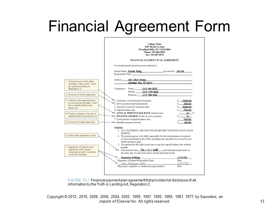 Patient Payment Agreement Form Mersnoforum