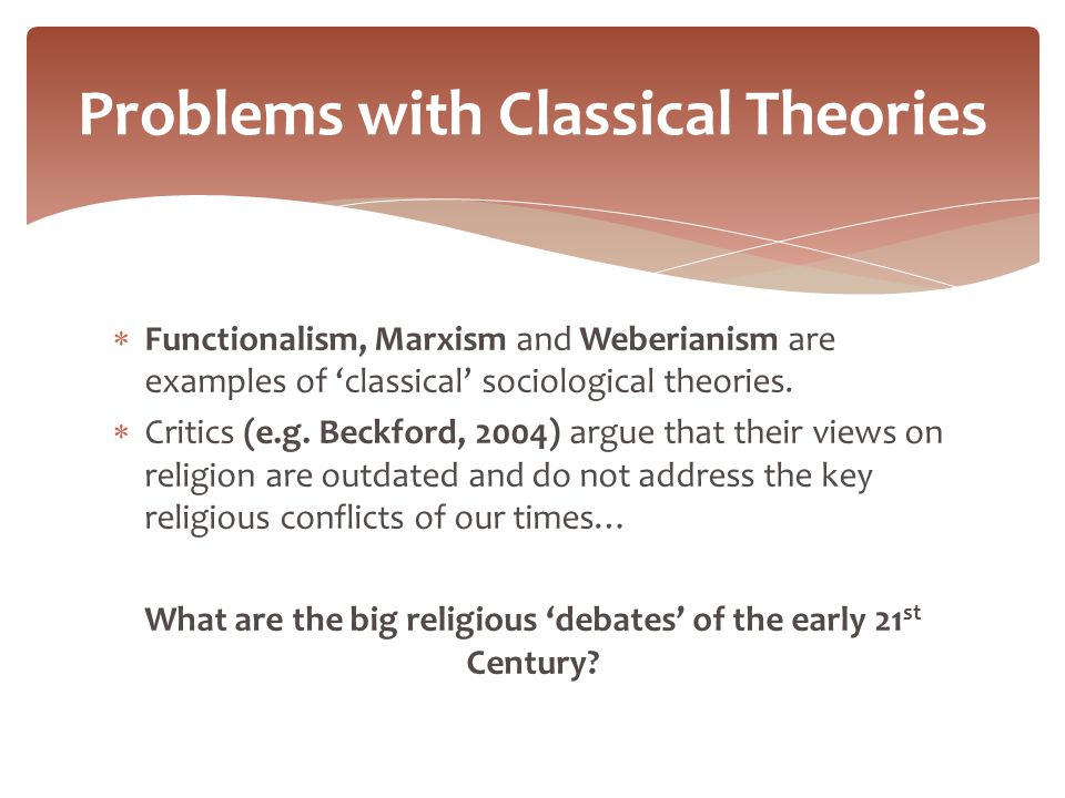 functionalism interpretivism marxism postmodernism Postmodernism has tried to interpret the new social and cultural changes such as the opening up of the eastern bloc it has attempted to analyse the growing impact of mass media on society it has challenged the absolutist positions of teh old metanarrative: functionalism, marxism etc it sees.