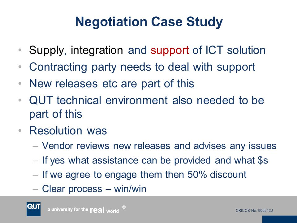indian case study on negotiation