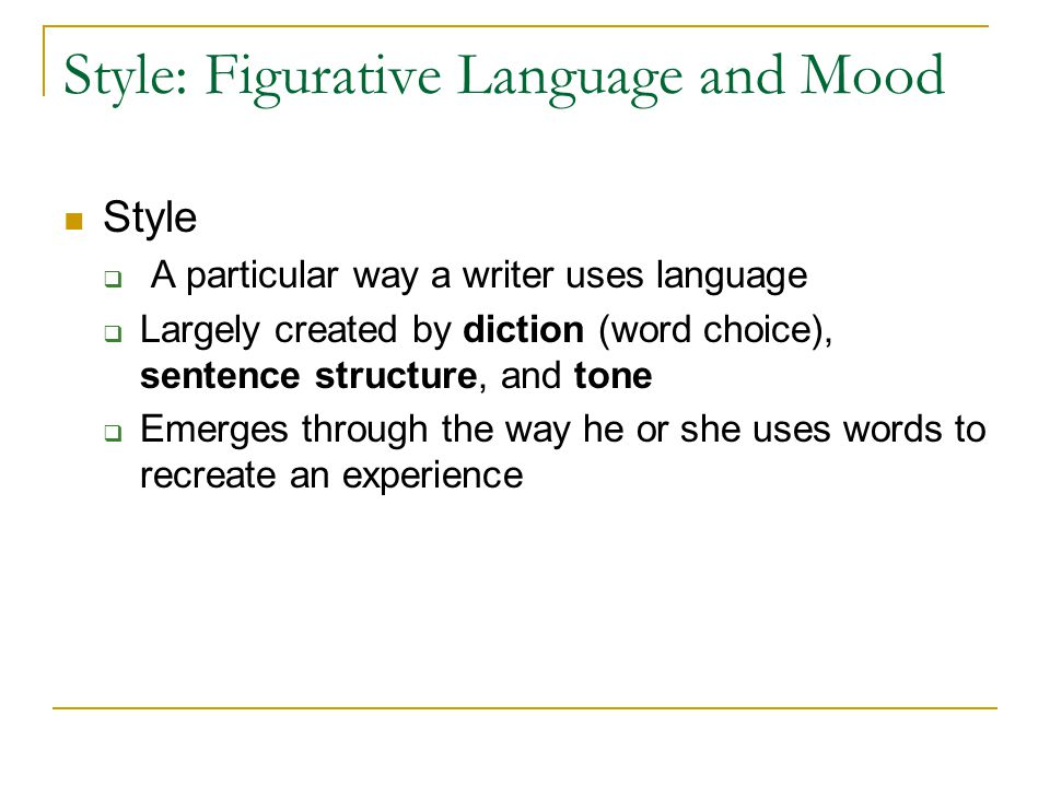 tone mood figurative language works hand Welcome to language arts: mood, tone, figurative language and vocabulary write the summary on the right hand side of page 18 in your ill.