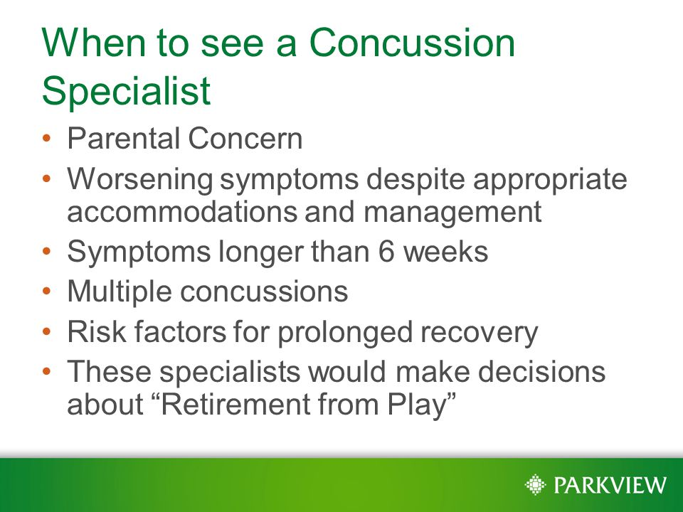 how to become a concussion specialist