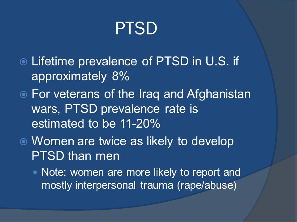 ptsd notes Post-traumatic stress disorder if you have gone through a traumatic experience it is important to note that you may have both ptsd and c-ptsd at the same time.
