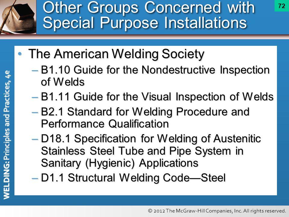 Pipe Welding And Shielded Metal Arc Welding Practice: Jobs