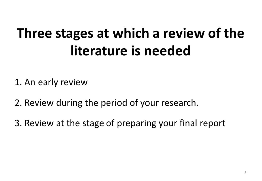 lit review stages Scoping out a study, structured literature review (slr) can be considered as a   set of research questions, students used tranfield, et al's (2003) ten phases.