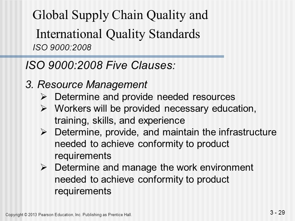 how to develop training quality standards