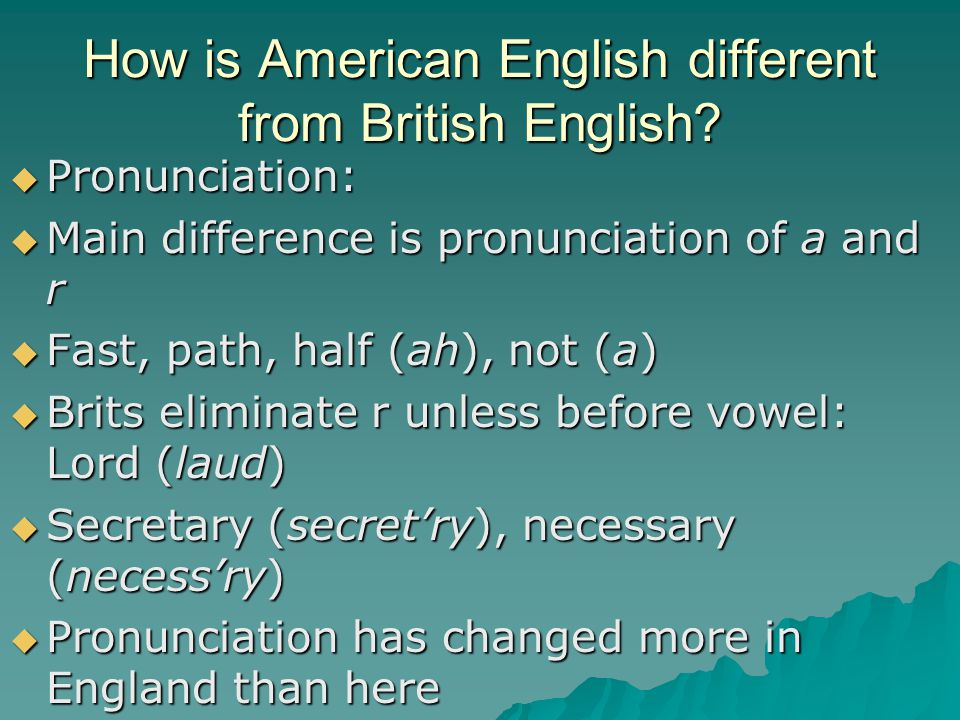 some issues in teaching english pronunciation How to teach vowel pronunciation in english 1 your students will need to correct pronunciation issues of which some pronunciation patterns are found.