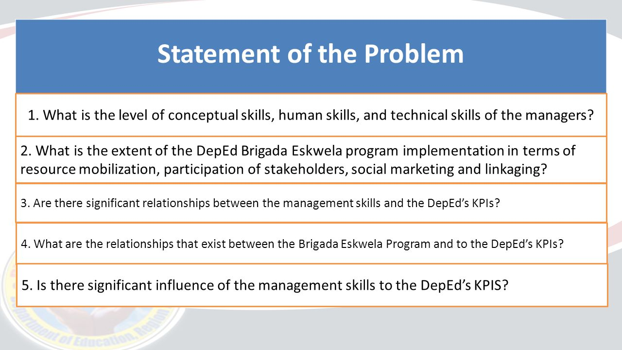 Problem statement ppt