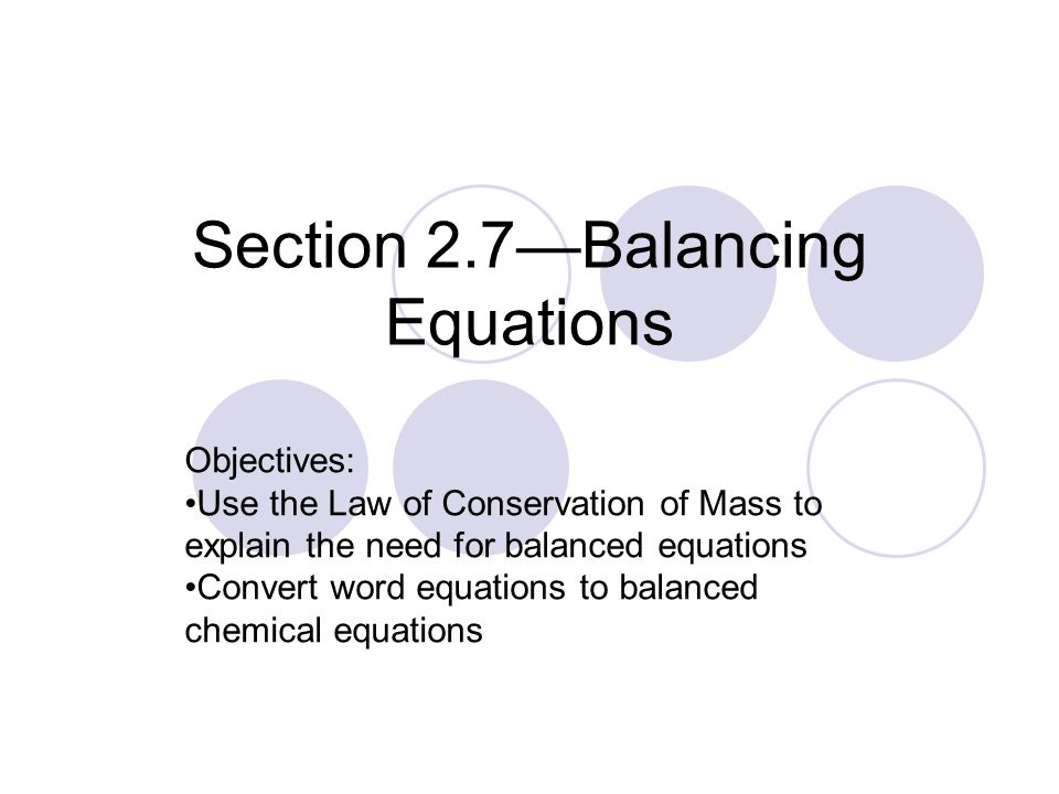 Section 27balancing Equations Ppt Video Online Download. Section 27balancing Equations. Worksheet. Translating Word Equations Chemistry Worksheet Unit 4 At Clickcart.co
