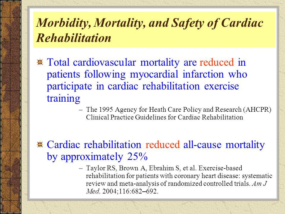 effects of cardiac rehabilitation on cardiovascular disease I ranian r ehabilitation journal effect of cardiac rehabilitation on heart rate  and functional capacity in patients after myocardial infarction.