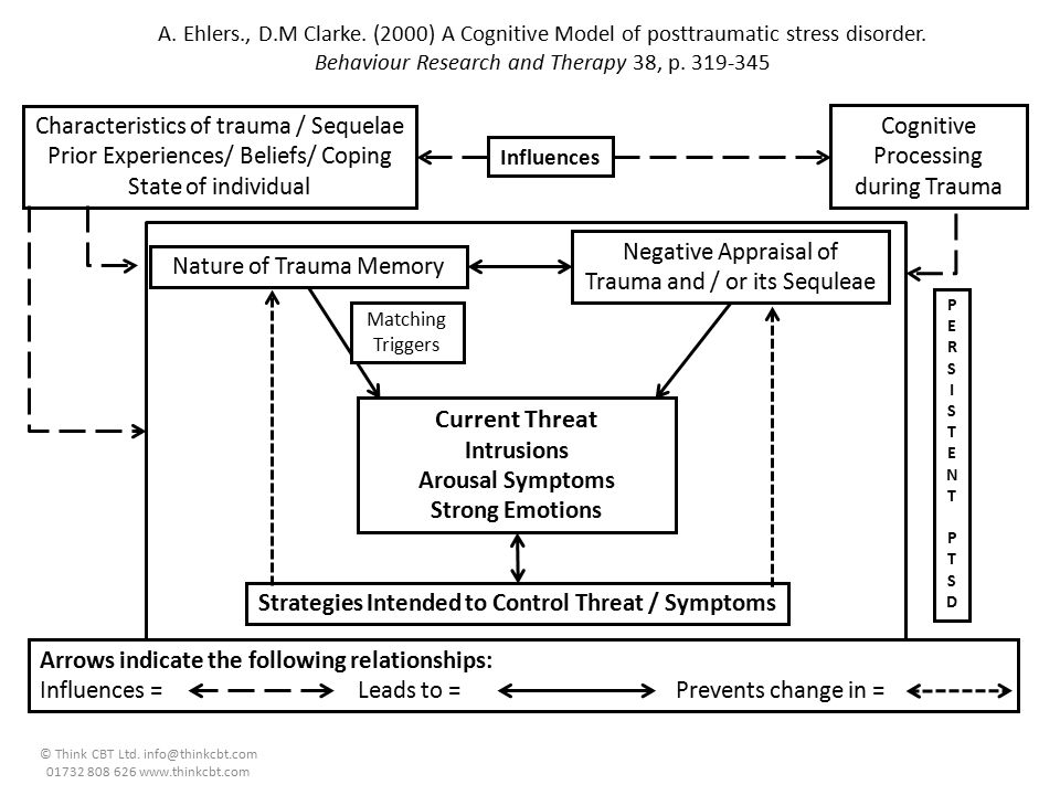 Strategies Intended to Control Threat / Symptoms
