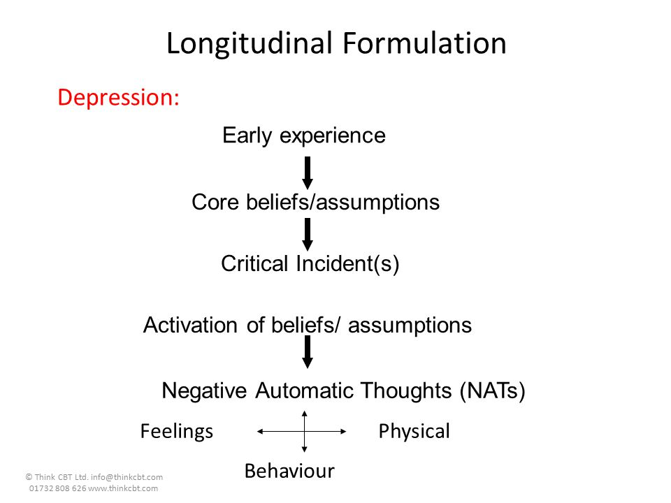 Longitudinal Formulation