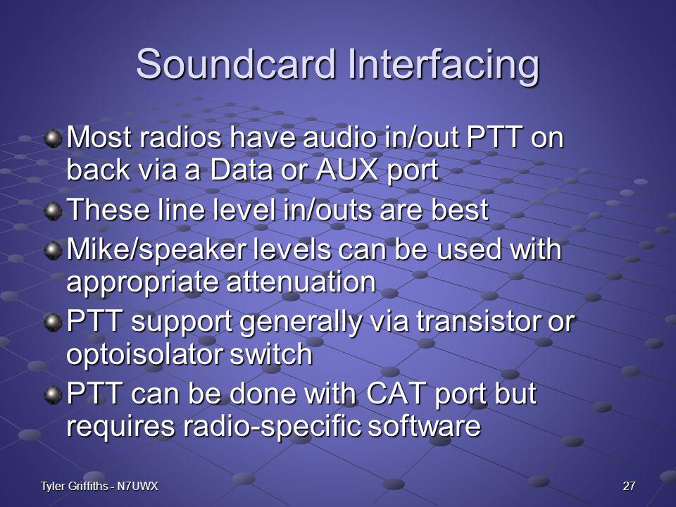 Soundcard Interfacing