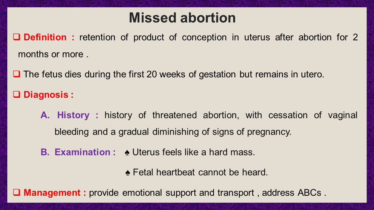 abortion definition