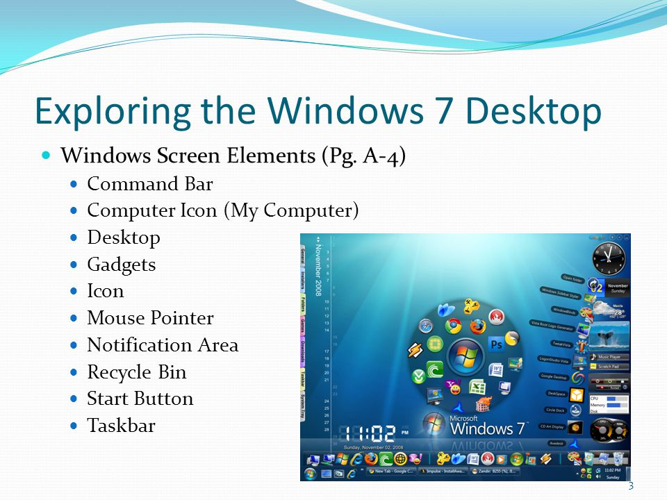 Exploring the Windows 7 Desktop