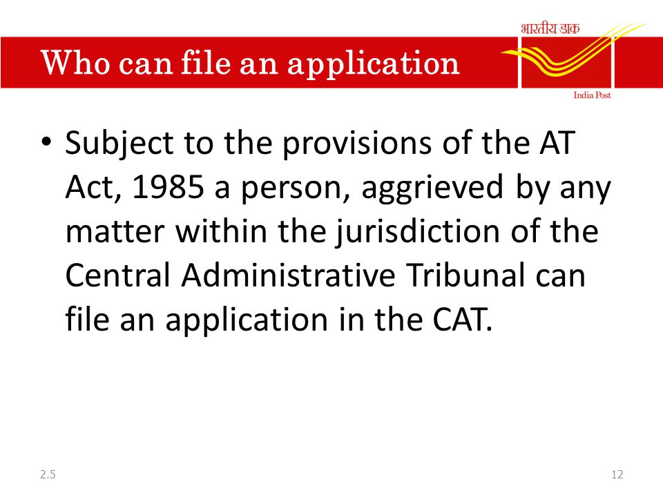 central administrative tribunal act 1985 pdf