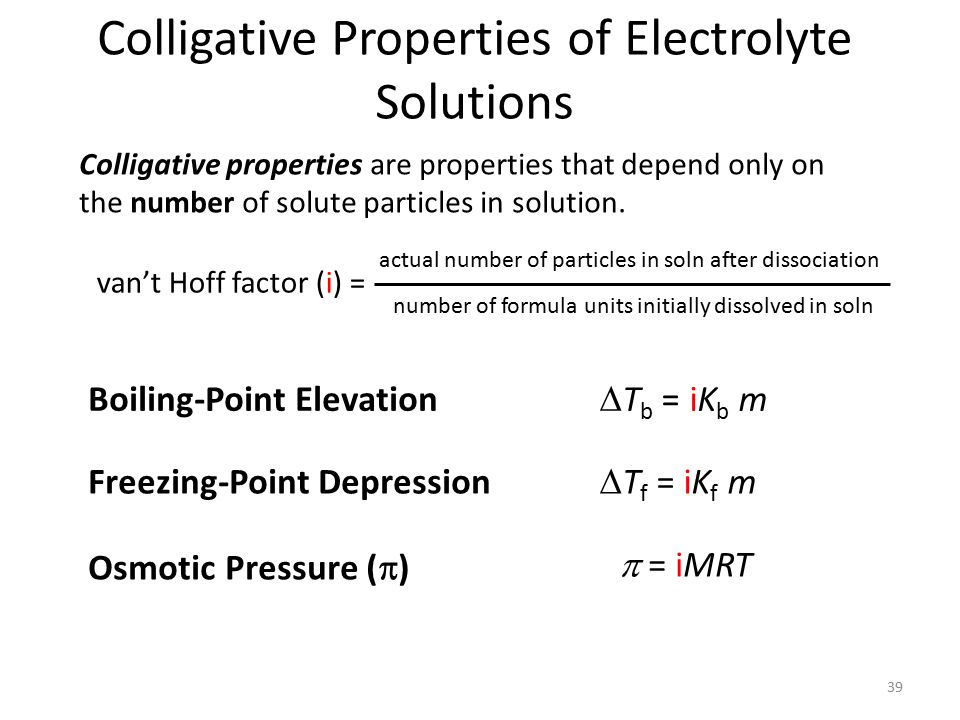 Colligative Properties Equations Jennarocca – Colligative Properties Worksheet