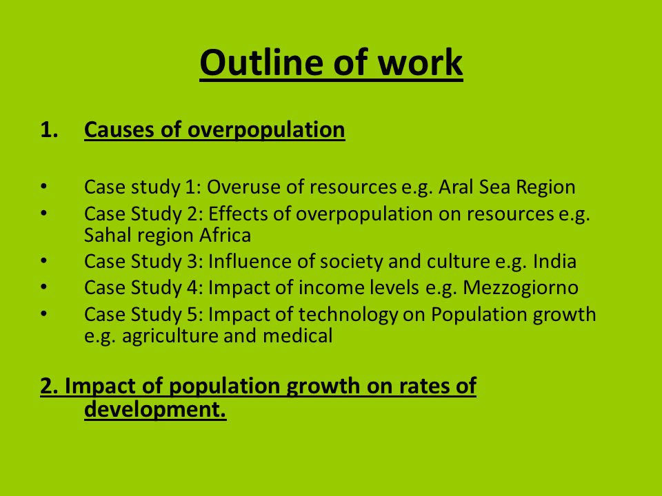 Effects of students overpopulation on the