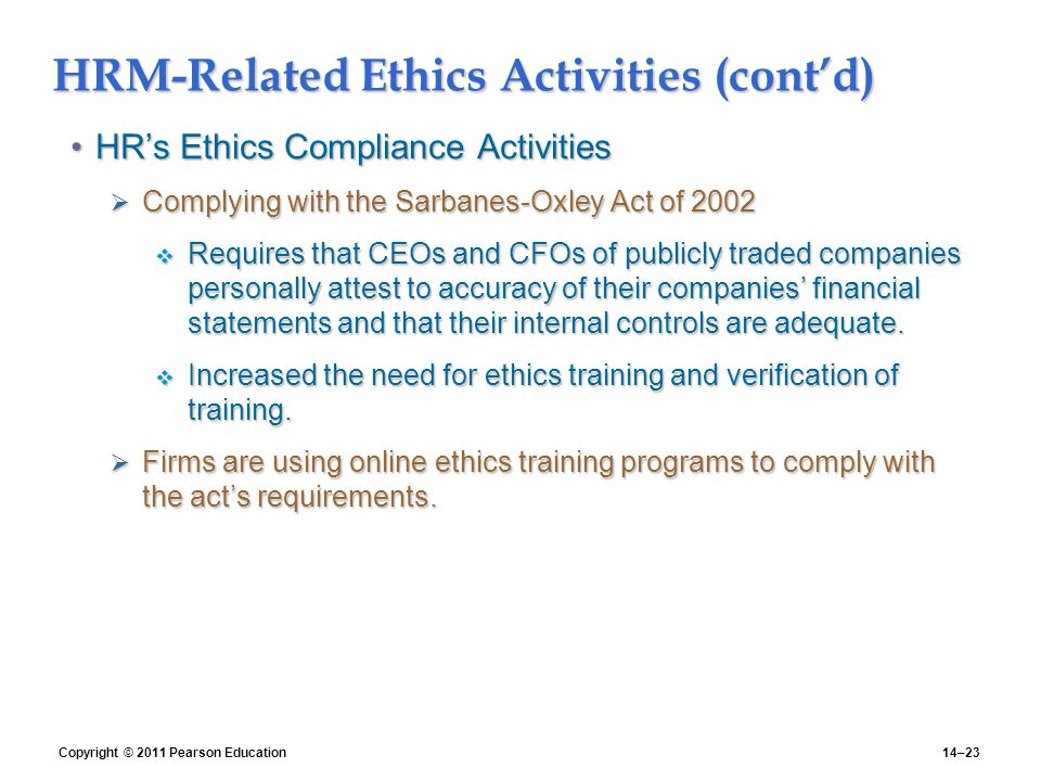 ethics in human resource management That is why human resources professionals are encouraged to stick to ethical codes of conduct to guide their ethics and human resource management being a leader.
