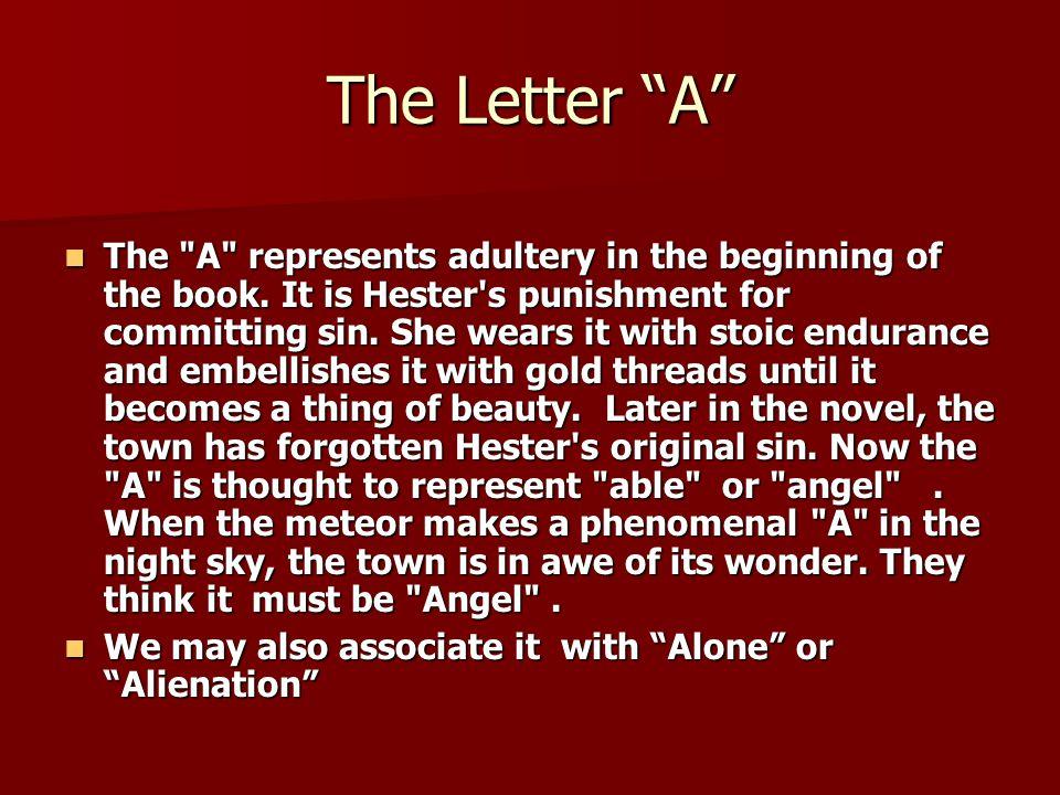 alienation scarlet letter nathaniel hawthorne
