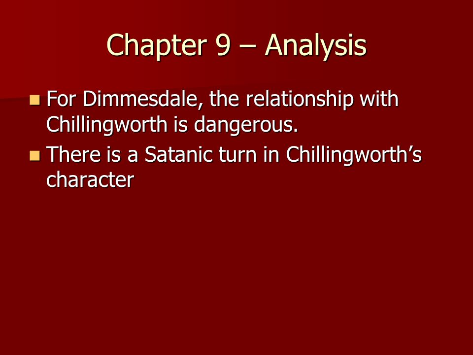 the character of dimmesdale the scarlet letter by nathaniel hawthorne