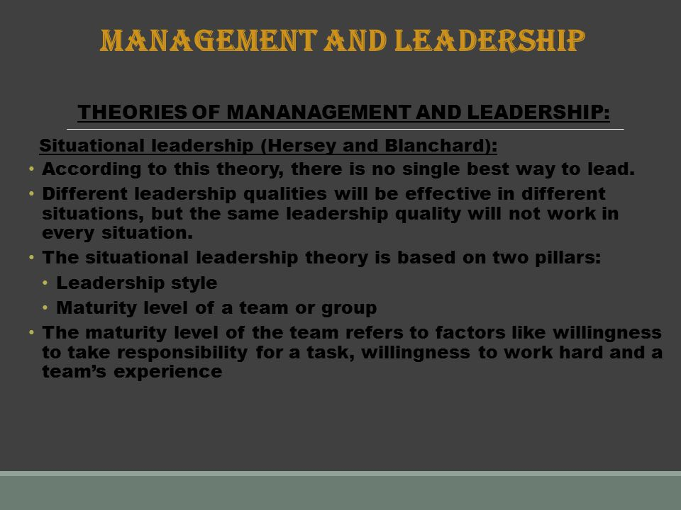 The Leadership versus Management debate: What's the difference?