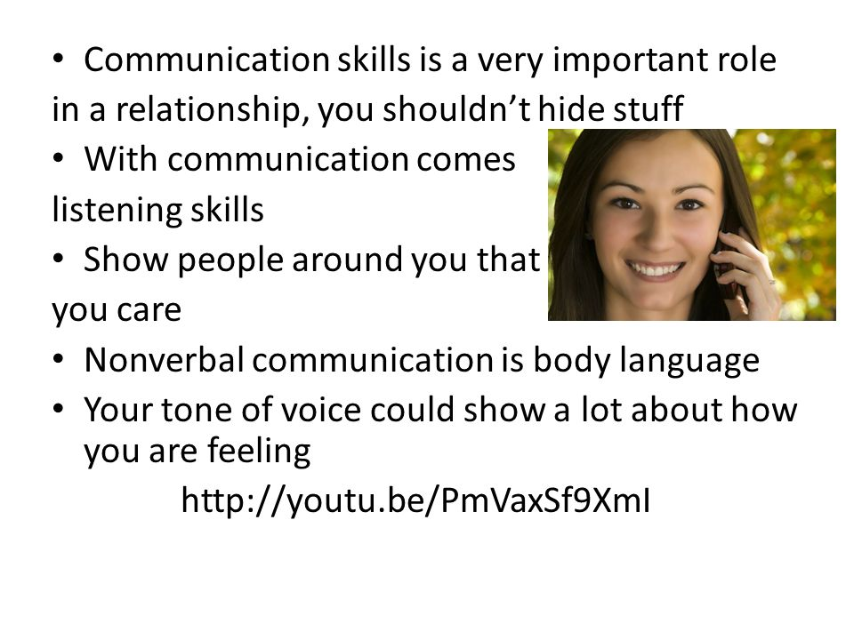Communication skills is a very important role