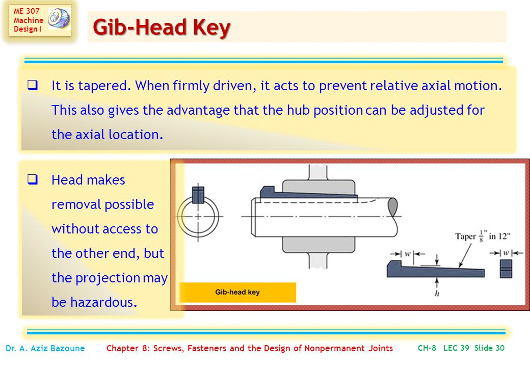 Gib-Head Key