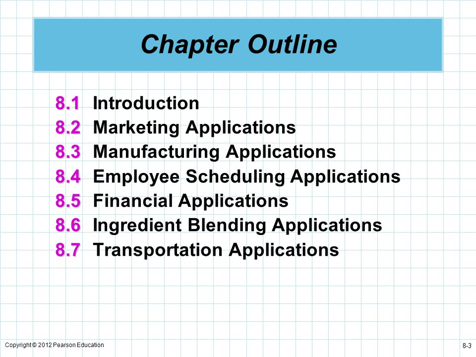 marketing chapter outline The beginners guide to online marketing  this guide is designed for you to read cover-to-cover each new chapter builds upon the previous one a core idea that we .