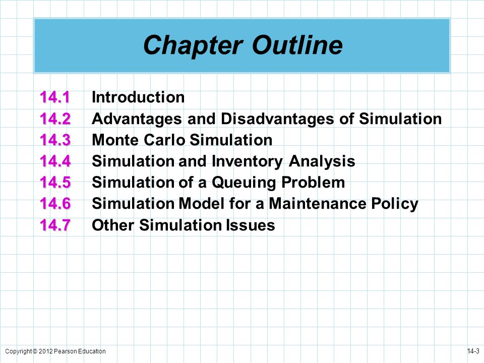 Chapter Outline 14.1 Introduction