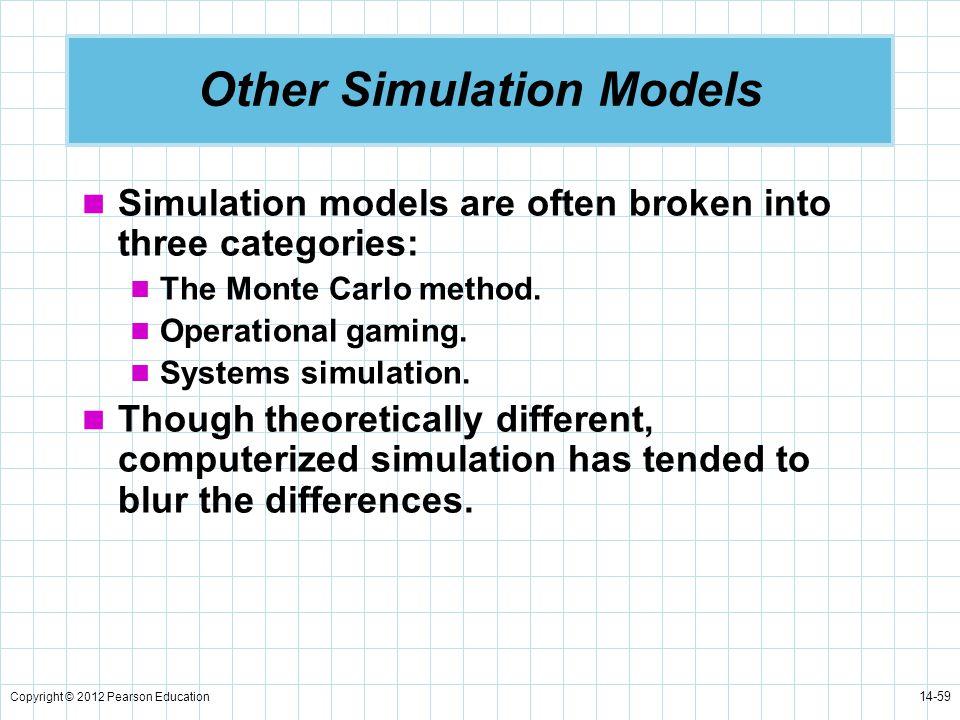 Other Simulation Models