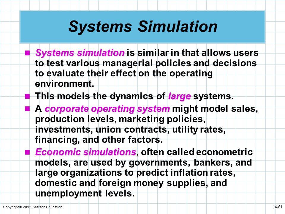 Systems Simulation