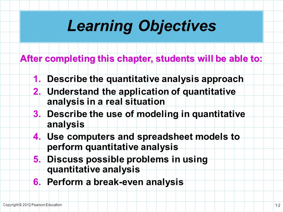Introduction To Quantitative Analysis - Ppt Downloadquantitative