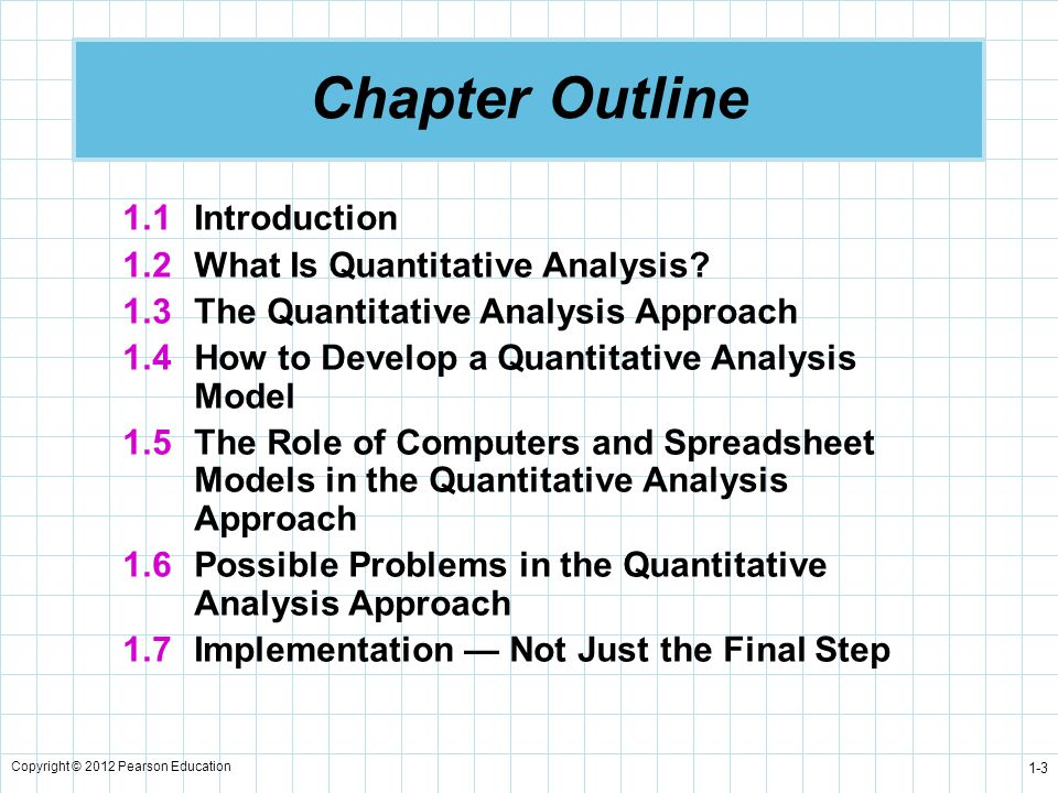 Introduction To Quantitative Analysis  Ppt Video Online Download
