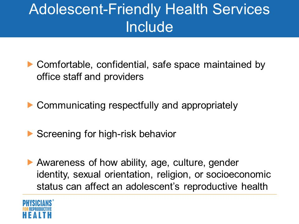 Complete Health History and Screening of an Adolescent or Young Adult Client