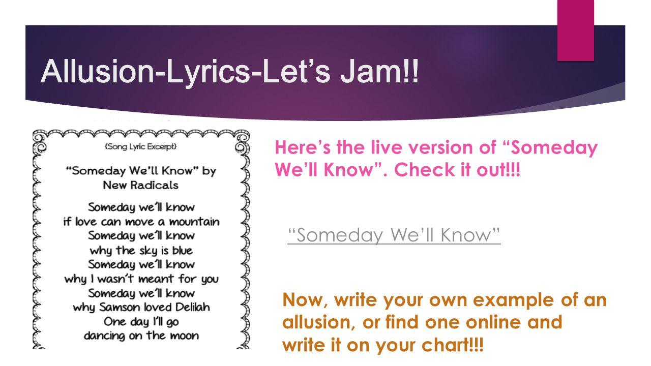 Worksheets Allusion Worksheet figurative language an independent study ppt video online download 48 allusion lyrics lets