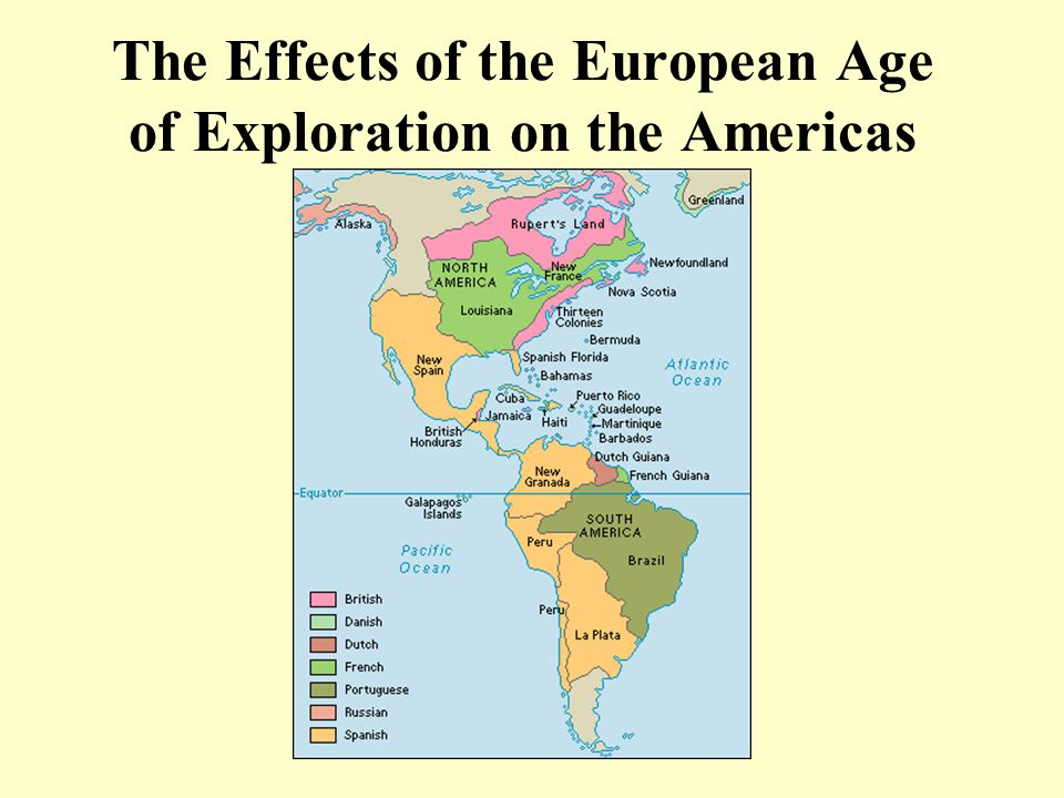 What Were the Effects of the European Age of Exploration?